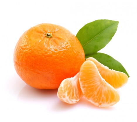 Dehydrated Mandarin with peel Powder